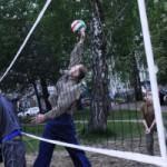 Вчерашний волейбол…)))