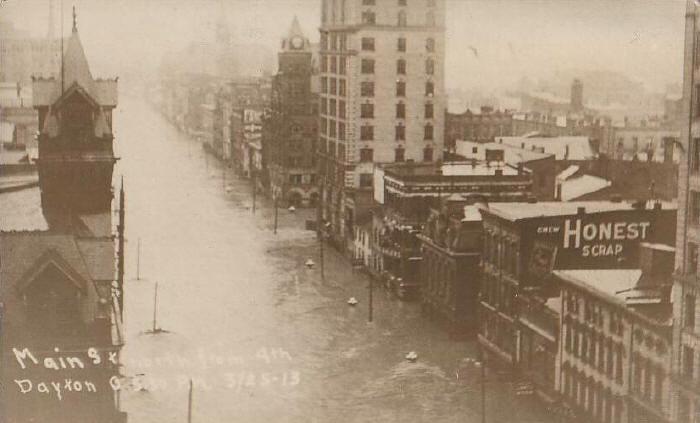 наводнение в дейтоне 1913
