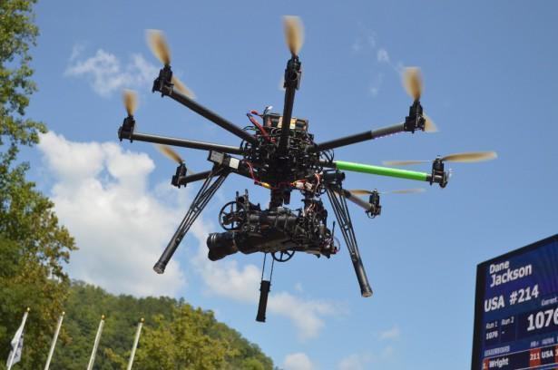 Камера-вертолет на радиоуправлении