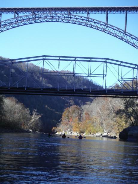 Два моста - верхний и нижний