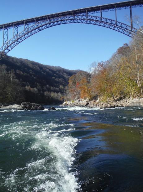 Заход в последний порог New River Gorge