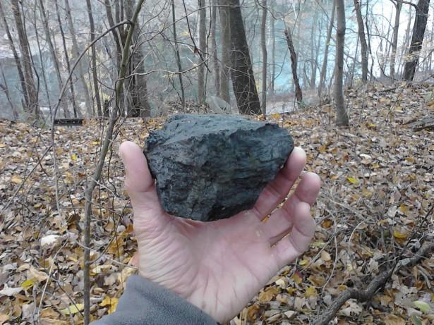 Уголь можно найти повсюду