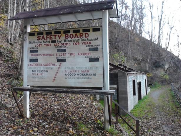 Статистика работы шахты - сколько дней прошло с последнего несчастного случая