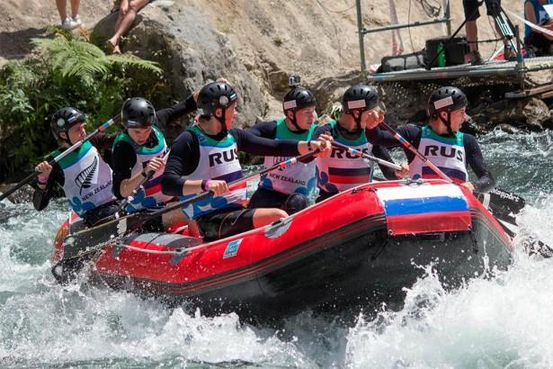 Команда Томск-Одиссей - сборная России по рафтингу в катгории U19