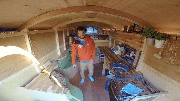 Канадский деревянный архитектурный хоббитский стиль домостроения