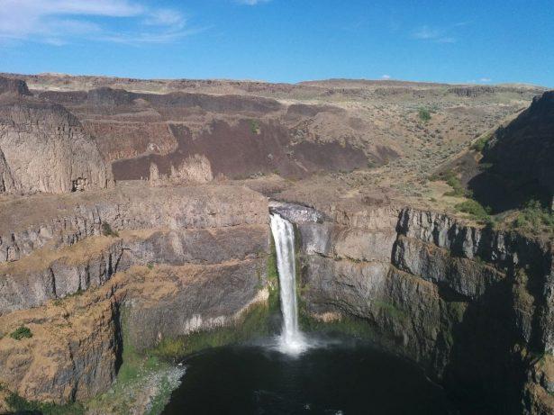 Palouse falls, высота 60 метров